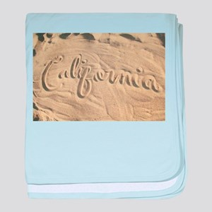 CALIFORNIA SAND baby blanket