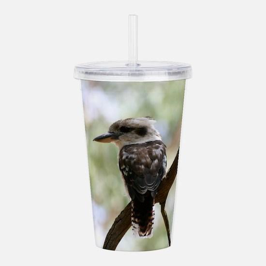 Funny Birdwatching Acrylic Double-wall Tumbler
