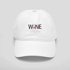 Wine a Little Baseball Cap