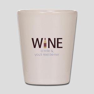 Wine a Little Shot Glass