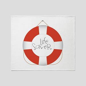 Life Saver Throw Blanket