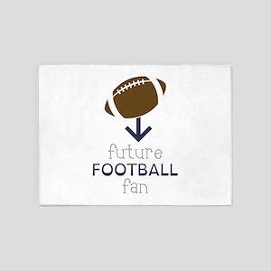 Future Football 5'x7'Area Rug