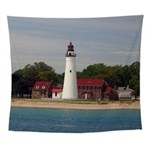 Fort Gratiot Lighthouse Wall Tapestry