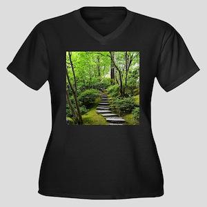 garden path Plus Size T-Shirt