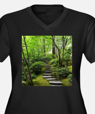 garden path Plus Size T-Shirt
