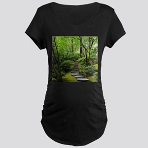 garden path Maternity T-Shirt