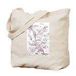 Ancient Waters Tote Bag Sepia Print