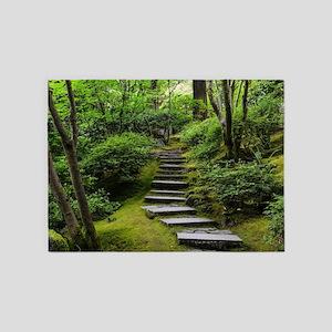 garden path 5'x7'Area Rug