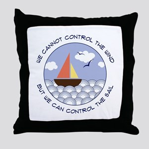 WE CANNOT CONTROL THE WIND BUT WE CAN CONTROL THE