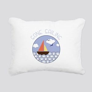 Gone sailing Rectangular Canvas Pillow