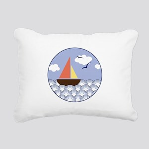 Contempo Sail Rectangular Canvas Pillow
