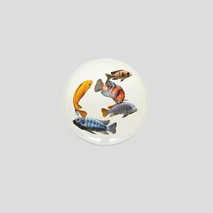 Cichlids Mini Button