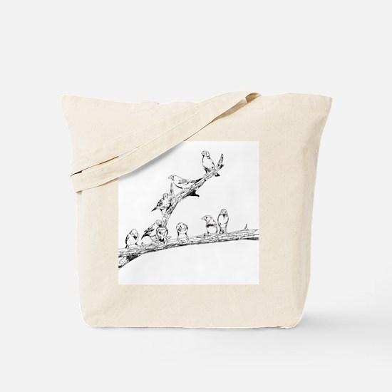 Unique Small cats Tote Bag