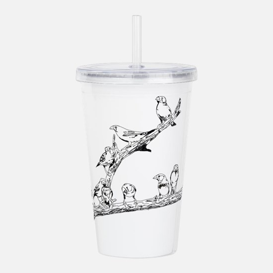 Cool Cat designs Acrylic Double-wall Tumbler