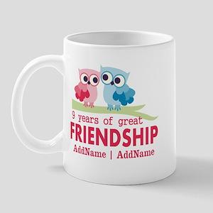 9th Anniversary Gift Personalized Mug