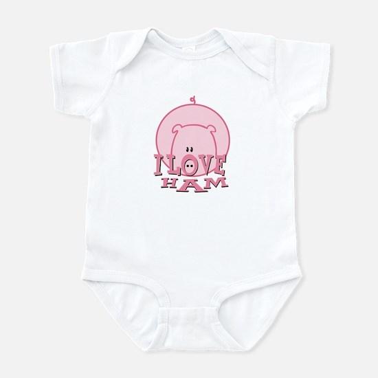 I Love Ham Infant Bodysuit