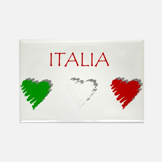 Italy Love Italian style Rectangle Magnet (10 pack