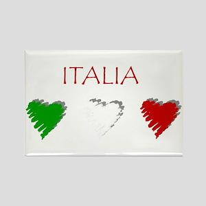Italy Love Italian style Rectangle Magnet