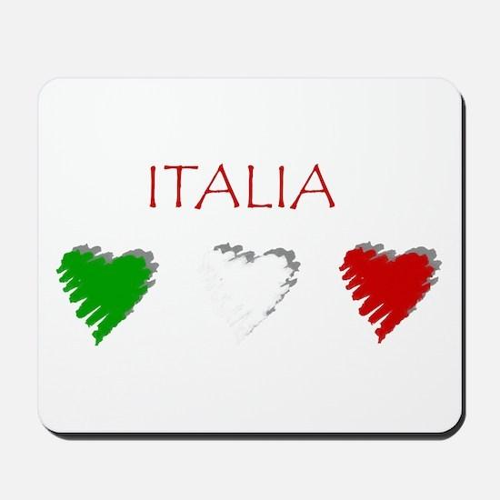 Italy Love Italian style Mousepad