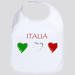 Italy Love Italian style Bib