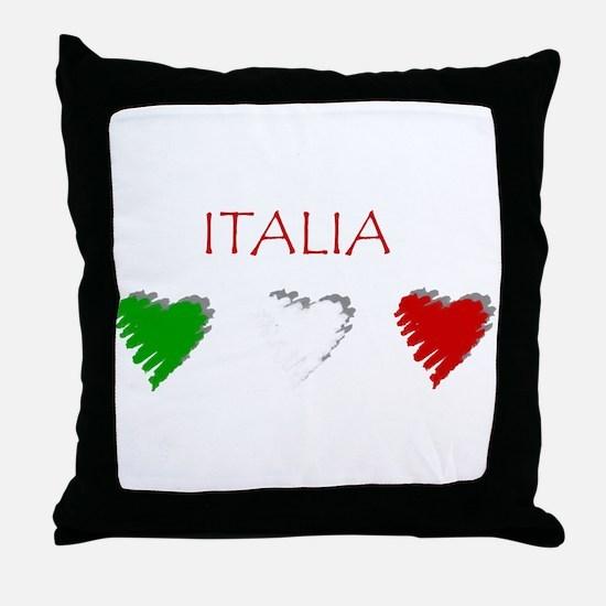 Italy Love Italian style Throw Pillow