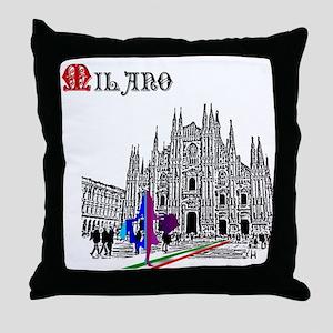 Milano Milan Italy Throw Pillow
