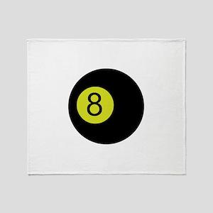 Eightball Throw Blanket