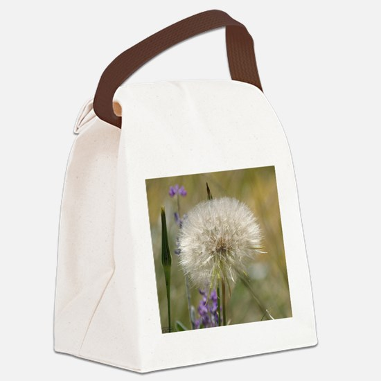 Dandelion Ball Canvas Lunch Bag
