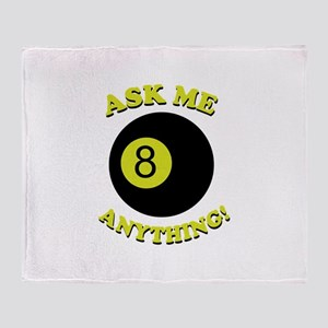 Ask Me Anything! Throw Blanket
