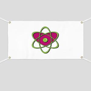 Atom Symbol Banner