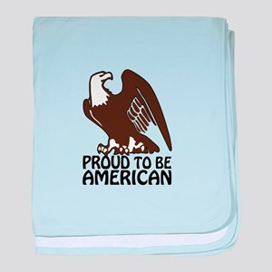 Proud To Be American baby blanket