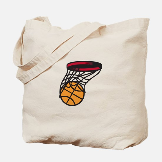 Basketball Swish Tote Bag