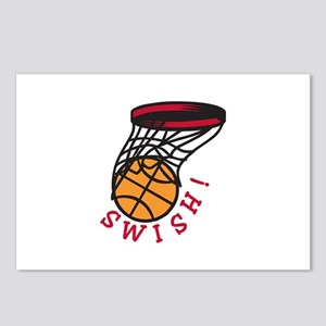 Basketball Swish Postcards (Package of 8)