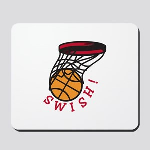 Basketball Swish Mousepad