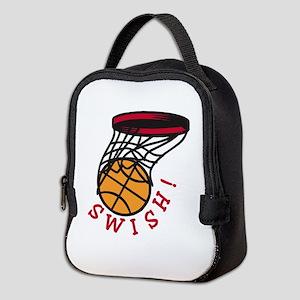 Basketball Swish Neoprene Lunch Bag