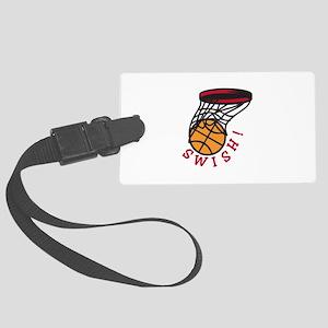 Basketball Swish Luggage Tag