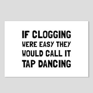Clogging Tap Dancing Postcards (Package of 8)