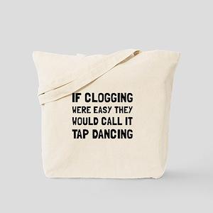 Clogging Tap Dancing Tote Bag