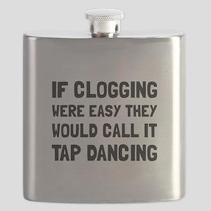 Clogging Tap Dancing Flask