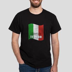 Gratefully Italian Dark T-Shirt