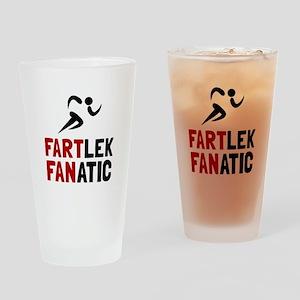 Fartlek Fanatic Drinking Glass