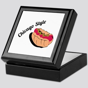 Chicago Style Keepsake Box