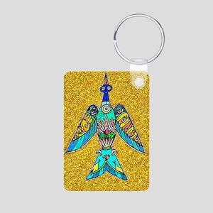 Caddo Bird Aluminum Photo Keychain Keychains