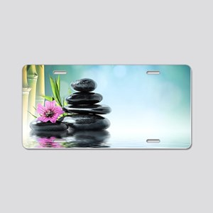 Zen Reflection Aluminum License Plate