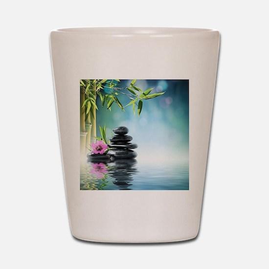 Zen Reflection Shot Glass
