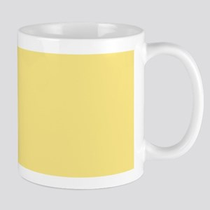 Solid YELLOW Mugs