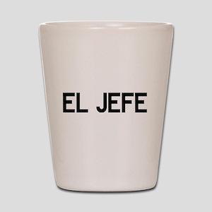 El JEFE Shot Glass