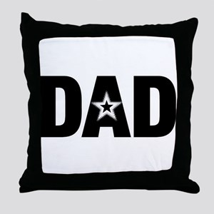 Dad is a Star Father's Day Throw Pillow
