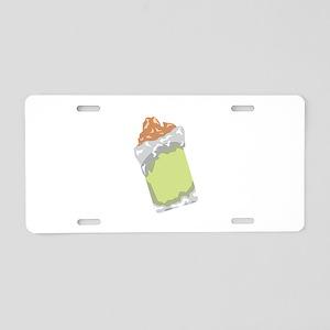 Sweet Dessert Food Aluminum License Plate