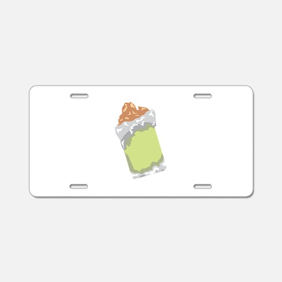 Sweet Dessert Food Aluminum License Plate